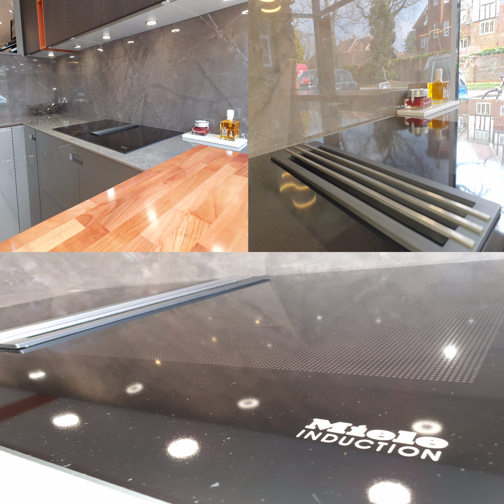 New Display Miele Induction Hob with Integrated Extractor Image