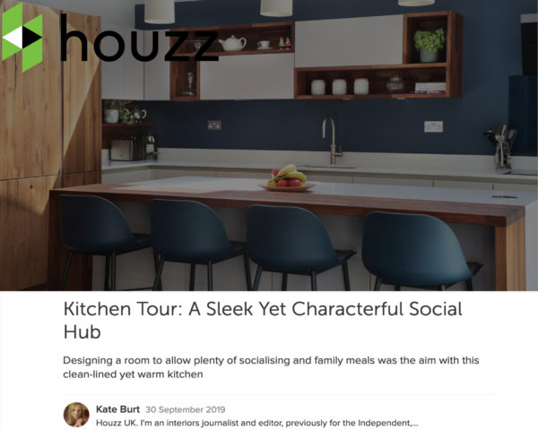 Featured In Houzz! Image