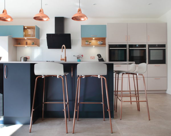 The Beauty Of Tri-Tone Kitchens Image